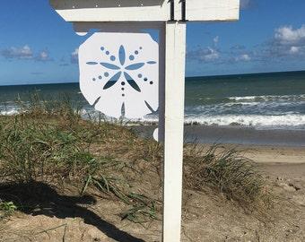 Sand Dollar Mailbox Bracket - Large