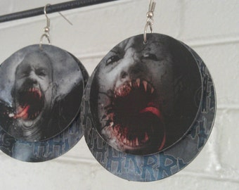 30 Days of Night layered earrings