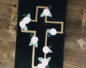 Hand painted ESV bible