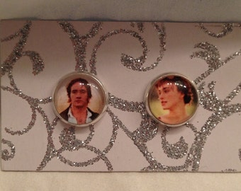 Pride and Prejudice Inspired Elizabeth and Mr. Darcy Earrings!