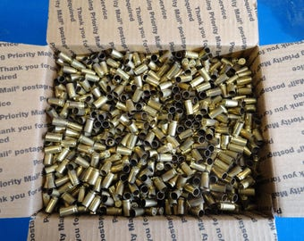 9mm - 27lbs - Recycled Range Brass - Sorted Only - Unprocessed