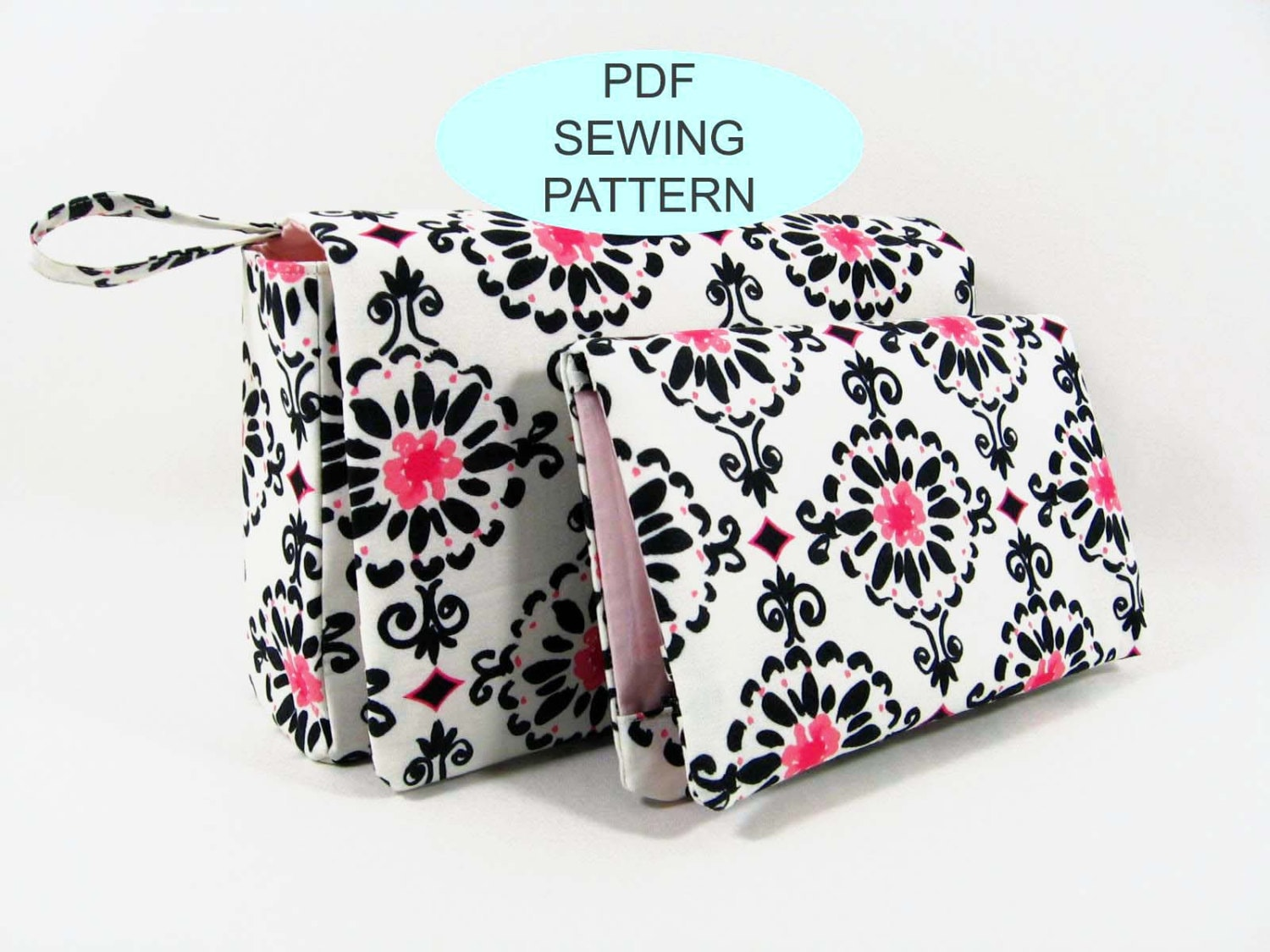 Pdf sewing tutorial and pattern instant download diy sewing zoom baditri Images