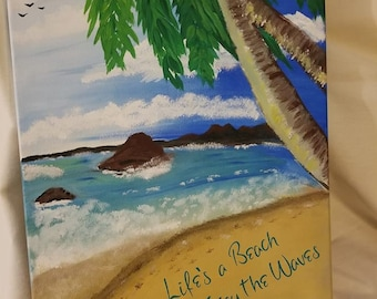 Oceanside Canvas Painting