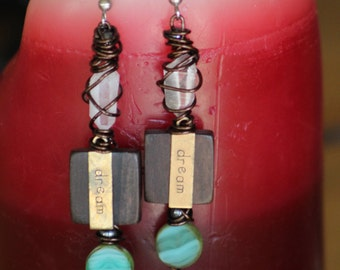 Dream crystal dangles