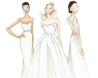 Angels of the Oscars-Oscars Fashion-Lady Gaga-Olivia Wilde-Priyanka Chopra-Fashion Illustration-Brooke Hagel-Brooklet-Fashion Print-Gaga