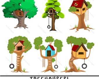 Treehouse Clipart, Treehouse Clip Art, Clipart Treehouse, Clip Art Treehouse, Treehouse PNG, PNG Treehouse, Tree House