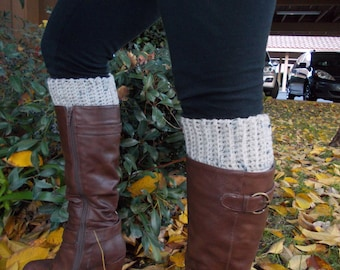 Crochet Boot Cuffs - Boot Toppers -  Leg Warmers - Knee Warmers - Available in Many Colors - Fall Winter Fashion