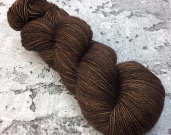 BARK - 80/20 Merino Sock Hand-dyed Yarn