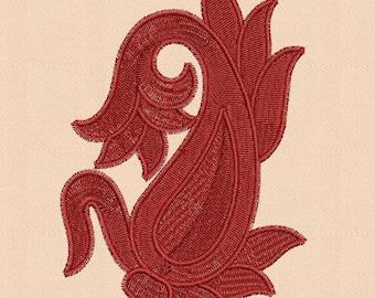 Machine Embroidery Design mango - 3 Sizes,flower embroidery design,paadarclub