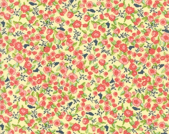 MODA Tuppence Floral Lillian Butter Yellow 45511 12 Yardage by Shannon Gillman Orr