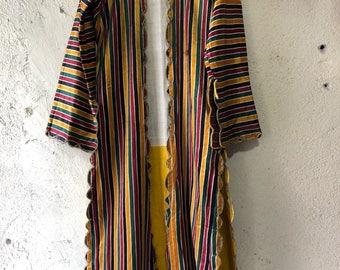 Yellow abric nomad women wear