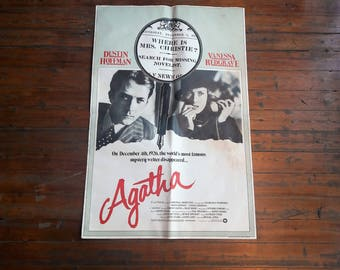 Vintage Agatha Christie Authentic Movie Poster