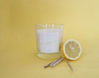 Lemongrass Soy Candle