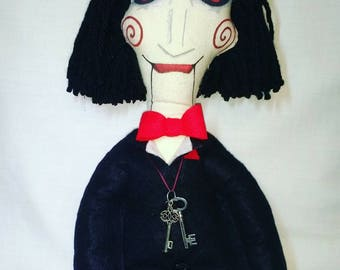 Billy saw puppet art doll