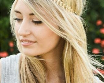 Gold Leaf Toga Headband