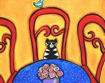 Ernesto and the Bluebird of Happiness - Shelagh Duffett Print