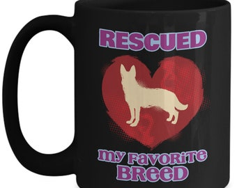 Rescued animal is my favorite breed