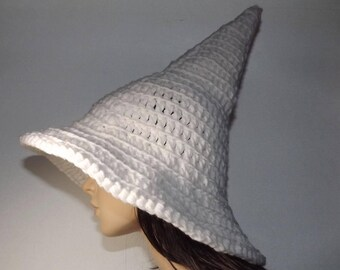 Adult Witch Hat Crochet- The Craft Keeper- Traditional Witch Hat Perfect Pointy Halloween Yule Fashion