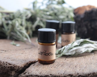 Caribou Leaf oil sample - concentrated