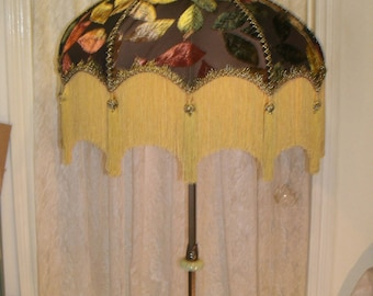 Large Floor Lamp Shade only or hang as a Swag lamp