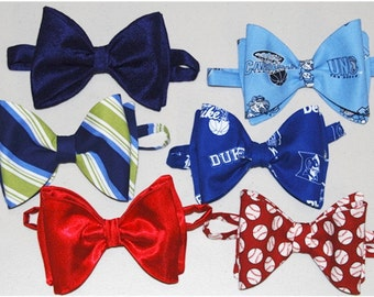 The NO-Tie BowTie PDF Pattern for Boys Sizes 2T-18 years