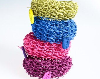 Bracelet made of Finnish paper yarn