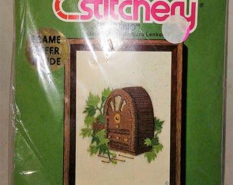 Jiffy Stitchery Needle Point Craft Kit, Juke Box Number 391, Canvas and Yarn