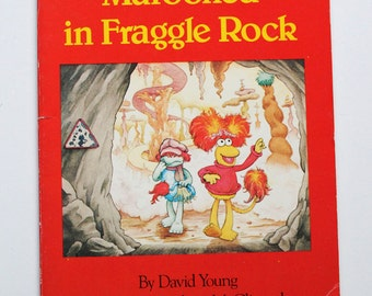 Fraggle Rock Marooned in Fraggle Rock Book 1984