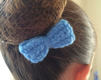 Light Blue Baby Bow