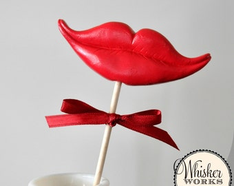 Smile Prop - The Coquette - Choose RED or PINK