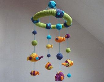 Crochet mobile pattern