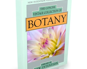 127 Botany Books on DVD Herbalism Plants Science Biology Gardeners