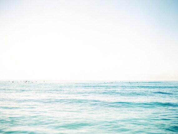 Sunrise Surfers at Waikiki Beach