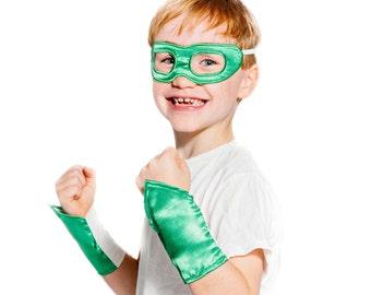 Kids Superhero Eye Mask and Wristbands