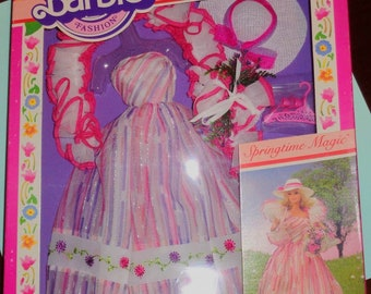NRFB Barbie Collector Series II Springtime Magic Outfit - 1983