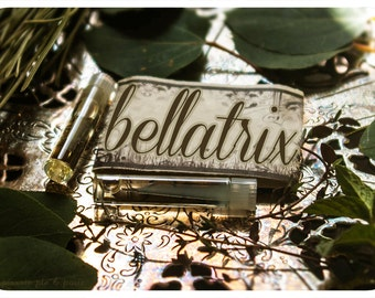 bellatrix - all natural perfume oil mini sampler twin pack - primary notes: patchouli & vetivert