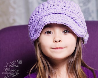 5 Sizes Lavender Newsboy Hat Lavender Hat Baby Girl Newsboy Cap Toddler Newsboy Toddler Girl Newsboy Toddler Hat Womens Newsboy Womens Hat