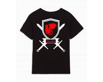 Tshirt - Dragon ring