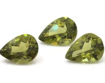 Peridot | Natural Peridot | Peridot Gemstone | Peridot Loose Gemstone | August Birthstone |  Green Peridot pear 1 Pc 2.6ct  8x11mm
