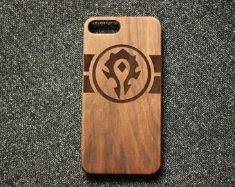 Iphone 7 case, world of warcraft iphone 6 case,wood iphone 7 plus case,wood iphone 6S case,warcraft iphone 7 case,iphone 5s case