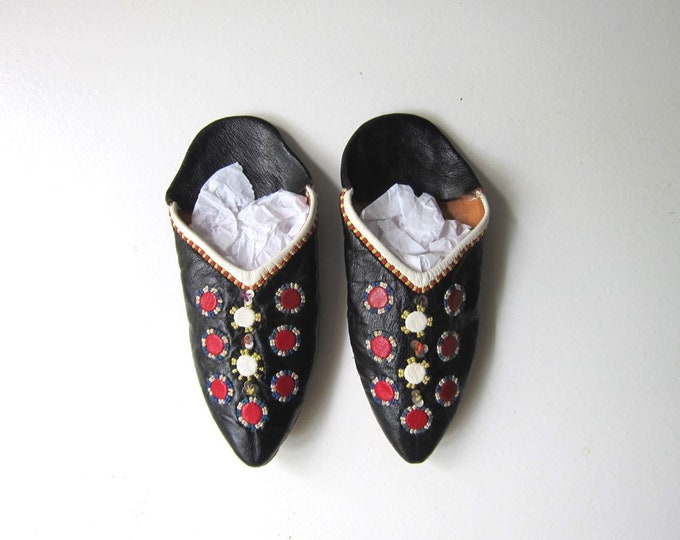 Leather Moroccan Slippers