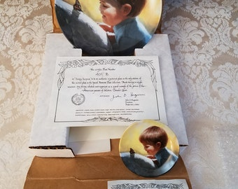 Pemberton & Oakes Special Moments Second Issue 1988 Sunny Surprise with Mini Version