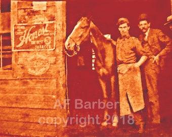 California Antique Blacksmith Shop - new fine art photo print by AF Barber