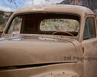 Studebaker - Old Studebaker - Old Truck - Rusty Old Truck - New Mexico - Fine Art Photography