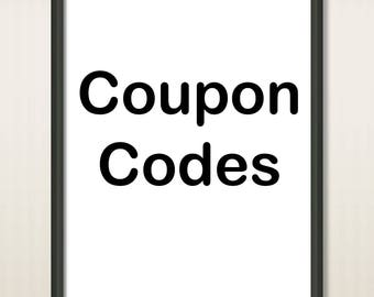 Don't Buy - Coupon Codes Tawer Art Shop