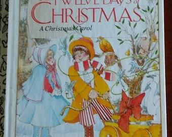 Little Golden Book The Twelve Days of Christmas 1983