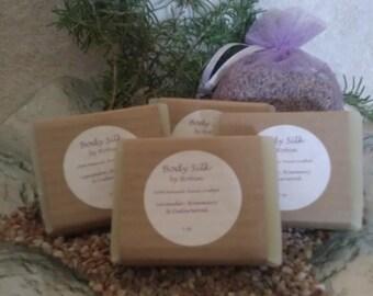 Lavender Rosemary Cedarwood Soap