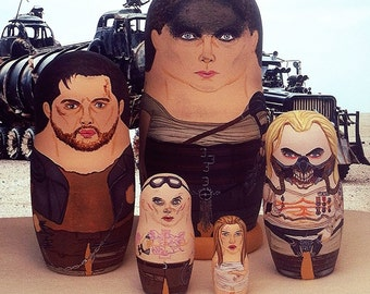 Mad Max: Fury Road Matryoshka Dolls