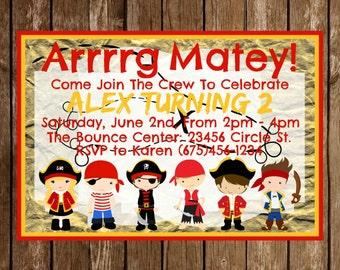 Pirate Party Invitation Download