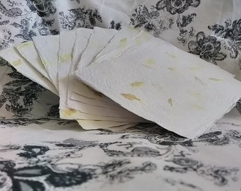 Love in a Mist Petals Handmade Recycled Paper Sheets